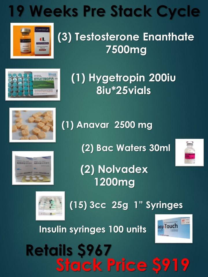 Beginners : Hygetropin HGH w/ Testosterone & Anavar